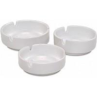 Cinzeiro Porcelana Branca 10 Cm