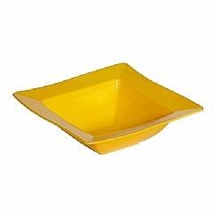 Saladeira Moove Vemplast P 800ml Linha Tropical em Polipropileno - Amarelo
