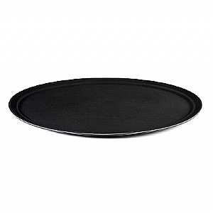 Bandeja Oval Anti Derrapante 62,5x52x80mm