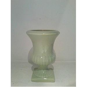 Vaso Verde Agua 13cm Diametro X 19cm de Altura
