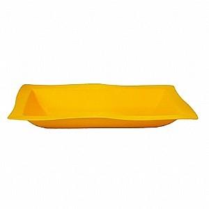Saladeira Moove Vemplast G 5 Litros Linha Tropical em Polipropileno - Amarelo