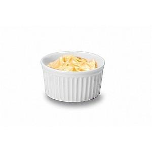 Hamekin Mini Degustacao -- 9 Cm Diametro X 4,5 Cm Alt -- 150 Ml
