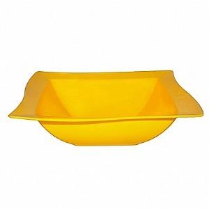 Saladeira Moove Vemplast M 2 Litros Linha Tropical em Polipropileno - Amarelo