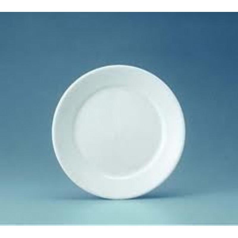 Prato Cerâmica 19 Cm Donna Branco