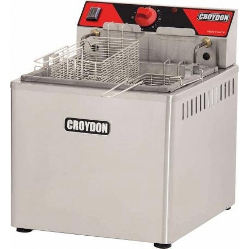 Fam5 Fritadeira Elétrica de Mesa 5000w Água E Óleo Croydon